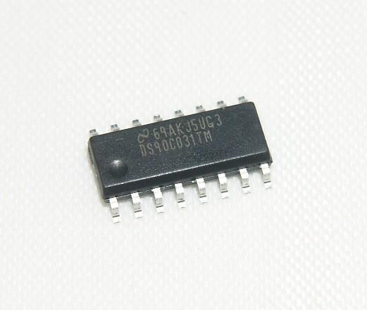 DS90C031TM/NOPB Quad Differential Transmitter